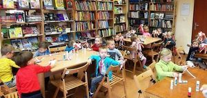 Ciekawe zajęcia w Miejskiej Bibliotece w Jedlinie-Zdroju.