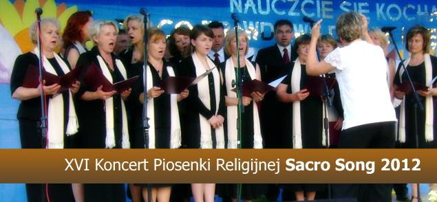 XVI Koncert Piosenki Religijnej Sacro Song 2012