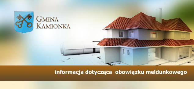 Informacja dot. obowiązku meldunkowego