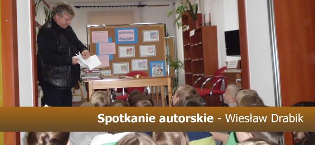 Spotkanie autorskie - Wiesław Drabik