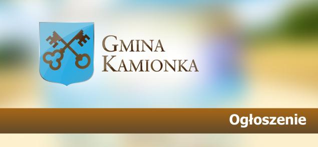 INFORMACJA W SPRAWIE OPŁATY ZA ODBIÓR I ZAGOSPODAROWANIE ODPADÓW Z TERENU GMINY KAMIONKA