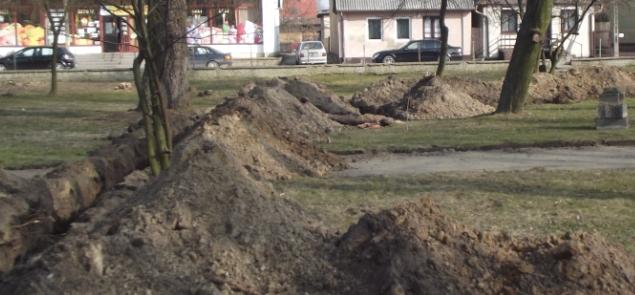 Ruszyły prace związane z rewitalizacją centrum Kamionki