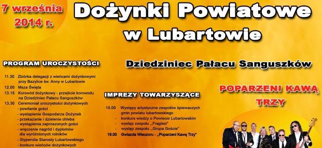 Dożynki Powiatowe w Lubartowie