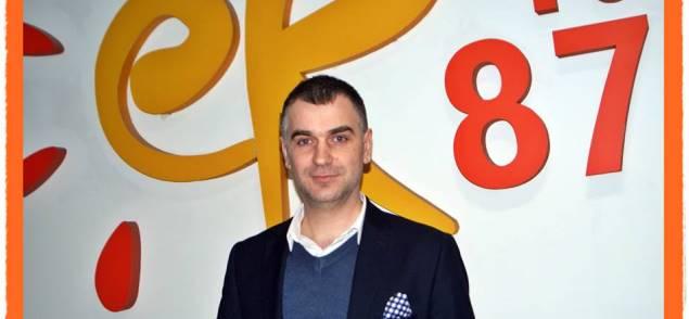 Wójt Gminy Kamionka Karol Ługowski gościem Radia eR