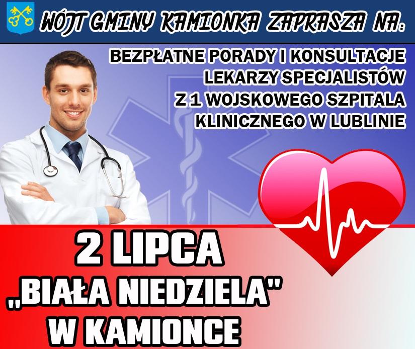 """2 lipca - """"Biała Niedziela"""" i """"Powitanie Lata"""" w Kamionce"""