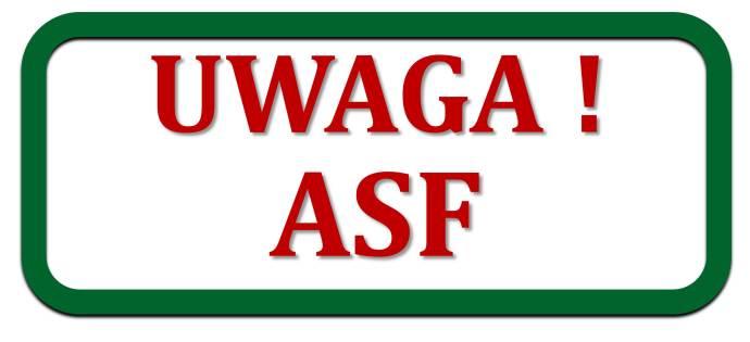 Uwaga na ASF