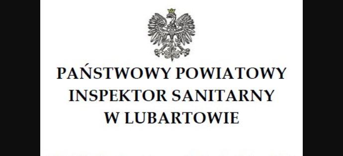 Komunikat Państwowego Powiatowego Inspektora Sanitarnego w Lubartowie z dn. 8 lipca 2020 roku