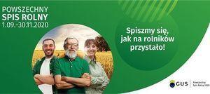 Powszechny Spis Rolny 1.09.2020 - 30.11.2020