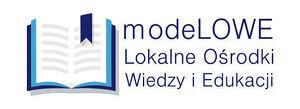 Logo  modeLOWE II Lokalne Ośrodki Wiedzy i Edukacji
