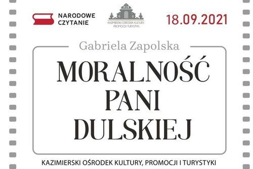 Fragment plakatu Narodowego Czytania