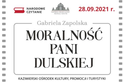 """Absolwenci GZS w """"Moralności pani Dulskiej"""""""