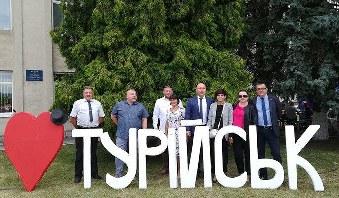 Delegacja z Miasta Krasnystaw w Turijsku