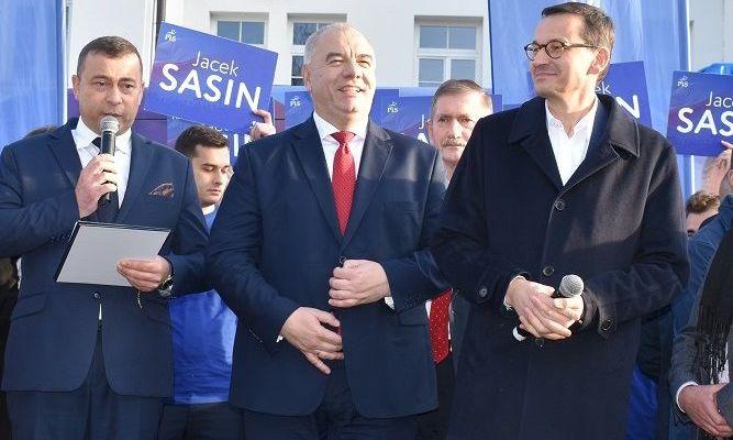 Wizyta premiera i wicepremiera w Krasnymstawie