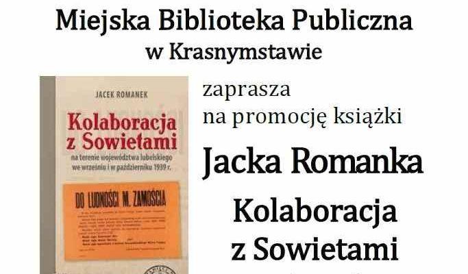Promocja książki Jacka Romanka