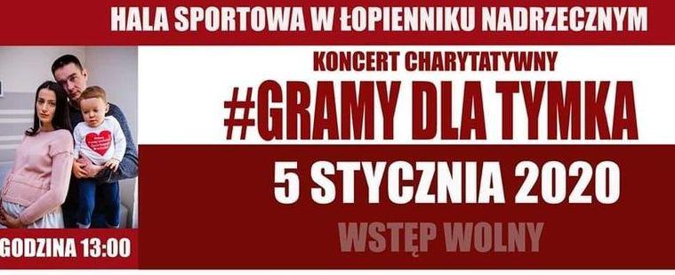 Koncert Charytatywny - gramy dla TYMKA