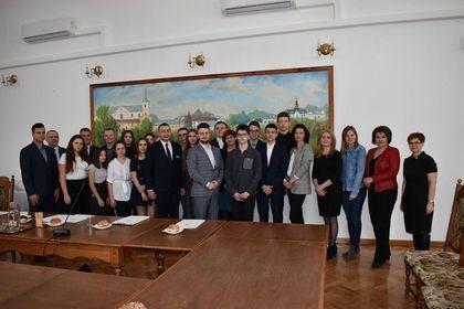 Pierwsza Sesja Młodzieżowej Rady Miasta Krasnystaw V kadencji