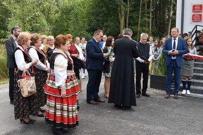 Uroczyste otwarcie Gminnego Ośrodka Kultury w Fajsławicach