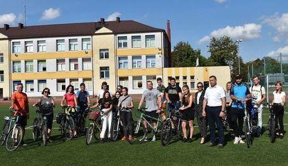 Otwarcie nowej inwestycji Miasta połączone z Rajdem Rowerowym