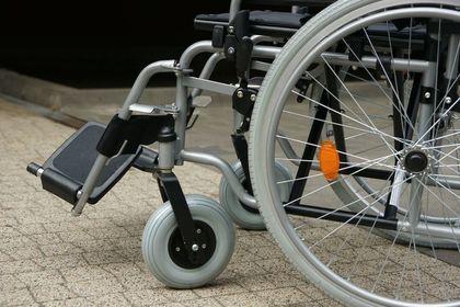 wózek dla inwalidów