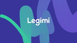 Kolorowe logo z napisem Legimi.