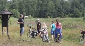 Wycieczka rowerowa nad jezioro Duży Ług oraz jezioro Rejowiec
