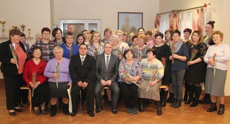 Spotkanie KGW w Łanach z okazji Święta Kobiet