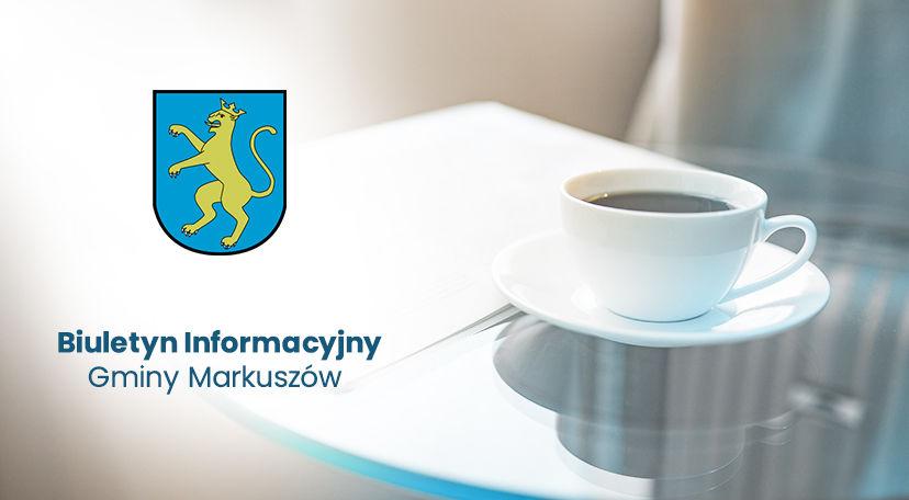 Biuletyn Informacyjny Gminy Markuszów