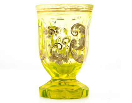 Biedermeier style cup