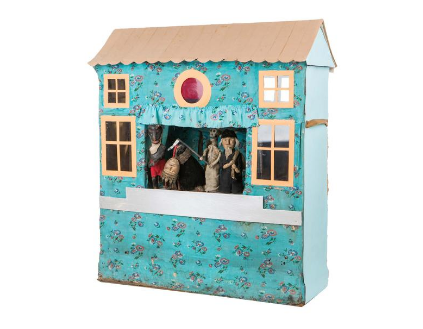 Caroler's nativity theatre