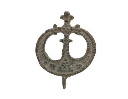 Amulet - lunulla z brązu