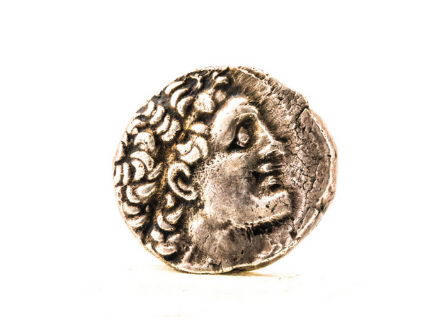 Coin of Ptolemy XIV – tetradrachm