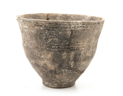 Bowl from a box grave