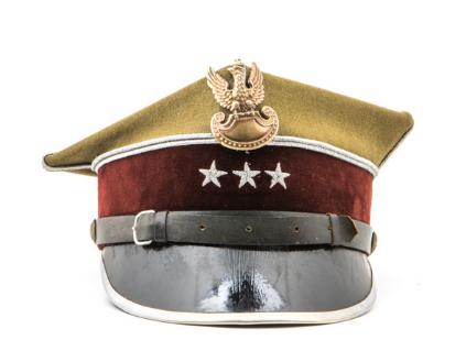 Oficerska czapka garnizonowa (rogatywka)