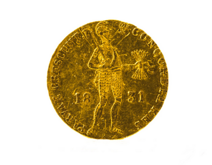 Ducat from the period of the November Uprising