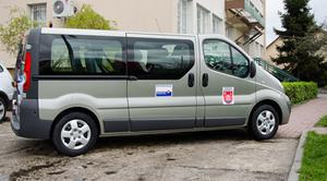 Nowy samochód do przewozu osób niepełnosprawnych