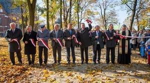 Uroczyste otwarcie parku w Niemcach