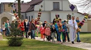 Obchody Niedzieli Palmowej w naszej gminie