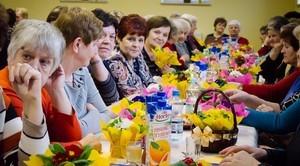 Obchody Dnia Kobiet w Klubie Seniora