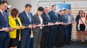 Uroczyste otwarcie sali sportowej w Jakubowicach Konińskich