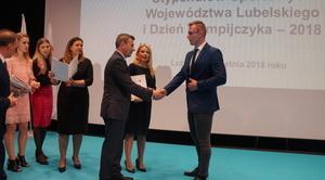 Stypendium sportowe Marszałka Województwa dla naszego zawodnika
