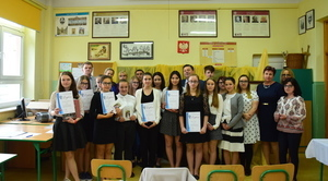 XIII Międzyszkolny Konkurs Recytatorski Poezji Religijnej