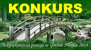 KONKURS - Najpiękniejsza posesja w Gminie Niemce 2018