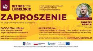 Bezpłatne szkolenia dla przedsiębiorców: Biznes Lubelskie 2018 w Lublinie
