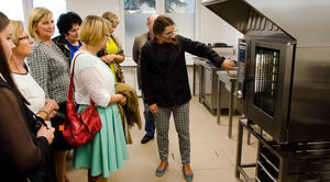 """Nowoczesne """"Laboratorium Kulinarne"""" w ZSP w Niemcach- otwarte!"""