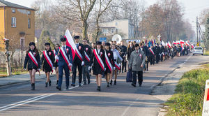 Uroczystość z okazji 100 Rocznicy Odzyskania Niepodległości przez Polskę