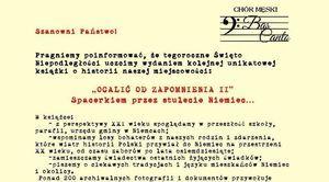 OCALIĆ OD ZAPOMNIENIA II - kolejna publikacja