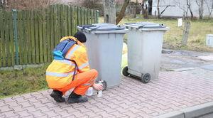 Kody kreskowe na pojemniki z odpadami