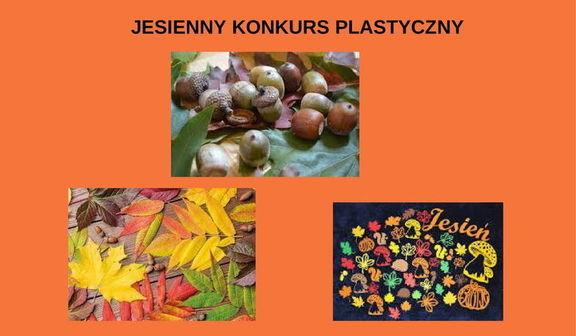 JESIENNY KONKURS PLASTYCZNY