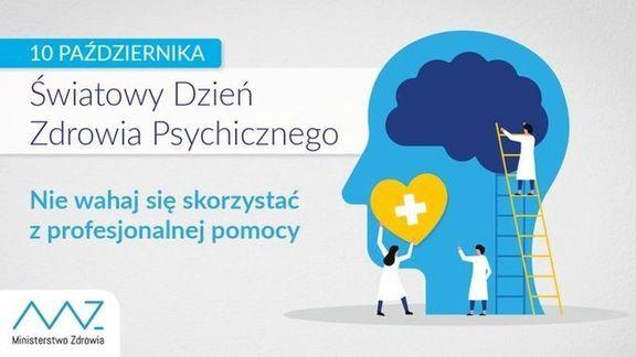 10 października obchodzimy Światowy Dzień Zdrowia Psychicznego ustanowiony w 1992 roku przez Światową Federację Zdrowia Psychicznego.