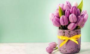Tulipany w wazonie